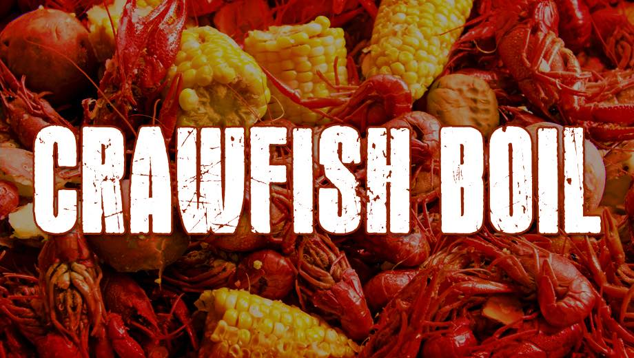 CRAWFISH BOIL @ Brewski's Pub & Grub