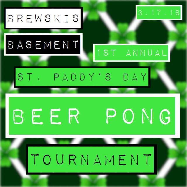 ST. PATTYS PARTY @ Brewski's Pub & Grub