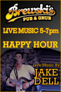 LIVE MUSIC Jake Dell @ Brewski's Pub & Grub