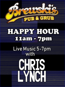 LIVE MUSIC Chris Lynch @ Brewski's Pub & Grub