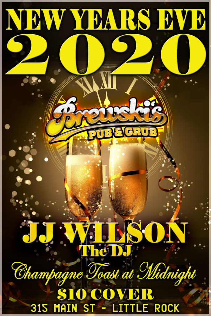 NEW YEARS EVE PARTY @ Brewski's Pub & Grub