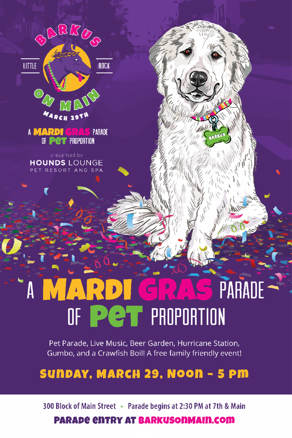 BARKUS ON MAIN / CRAWFISH BOIL @ Brewski's Pub & Grub